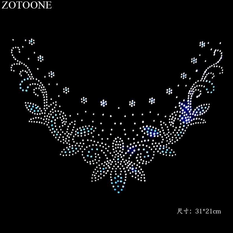 Zotoone adesivos de strass de cristal, pedrinhas de vidro transparente, aplique para decoração de roupas de casamento cyrkonie