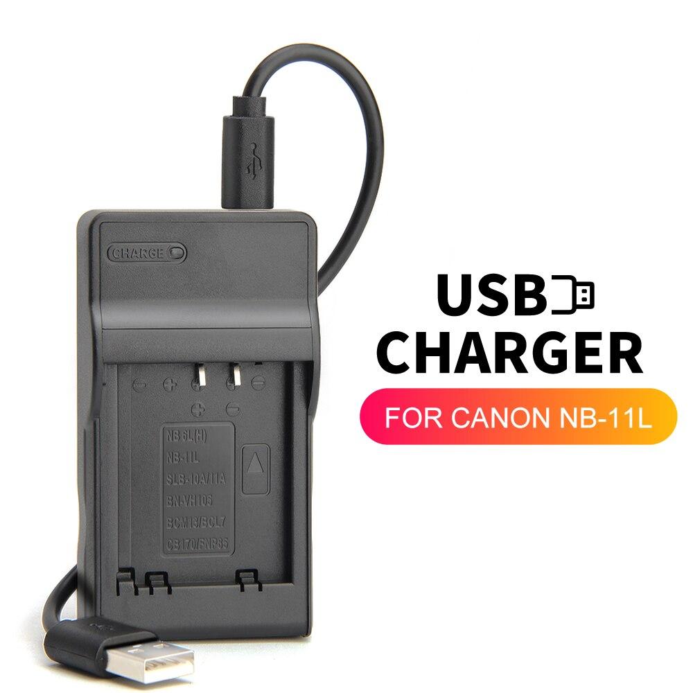 Зарядное устройство zhenfa для Canon PowerShot A2400 A3400 A4000 A4050 SX420 IS IXUS 190/185 SX430 IS, NB-11L, USB, NB-11LH