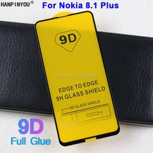 For Nokia 8.1 Plus 5D 6D 9D Full Glue Cover Toughened Tempered Glass Film Screen Protector Guard