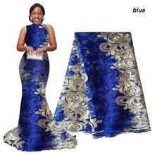 Dentelle à lacets africaine bleu Royal rose or   Crème, Orange, nigérian, dentelle de mariage français, Tulle Lace, tissu de haute qualité