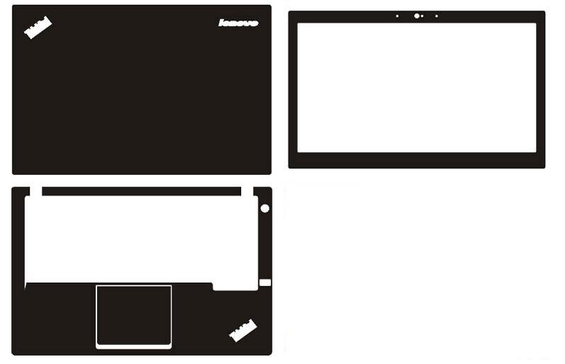 Laptop Carbon fiber Vinyl Skin Sticker Cover For Lenovo Thinkpad X240 12.5-inch
