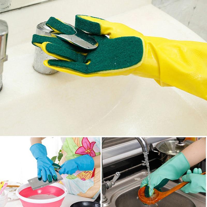 Хозяйственные перчатки для уборки 1 пара креативные мытья дома садовые кухонные