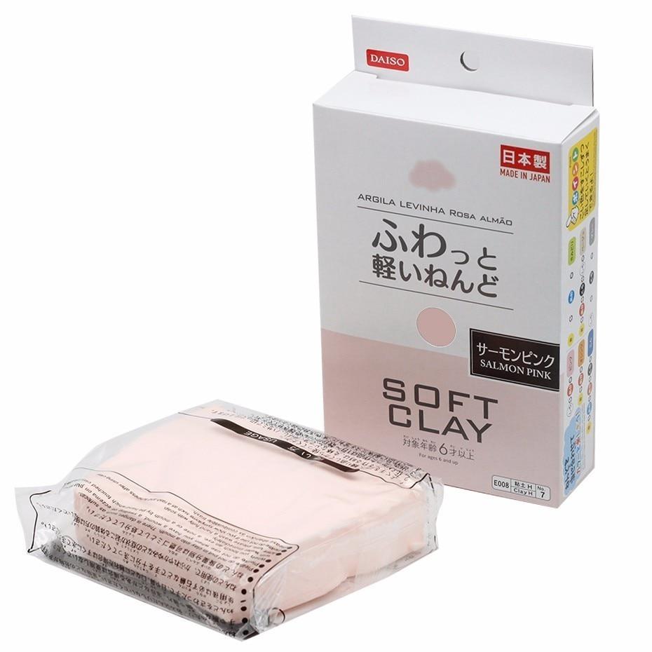Argila mole japonesa para modelagem de ar, argila macia ultraleve para uso ao ar seco, azul, rosa, preto, branco, vermelho, amarelo, verde, marrom, qtw6053, novo, 2020