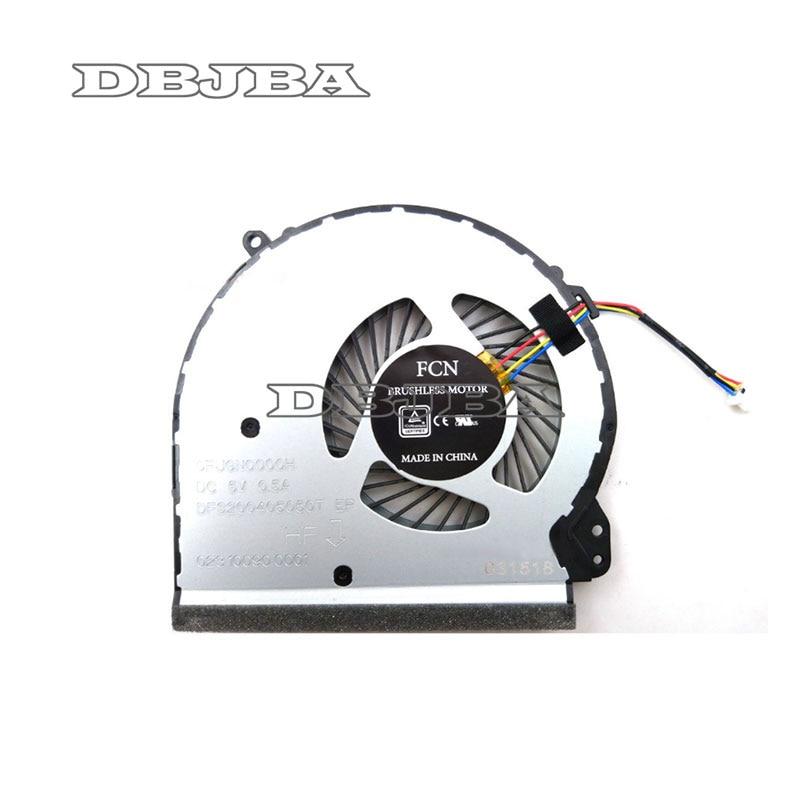 Nowy wentylator procesora do HP 17-X 17-Y 17-BS022NR 17-bs061st 17-x051n 17-x116dx TPN-M121 DFS200405050T 926724-001 856682-001 856681 -001