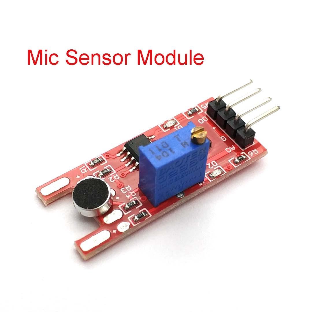 Módulo de Sensor de sonido de voz de micrófono para Arduino sensores de salida Digital analógica KY-038