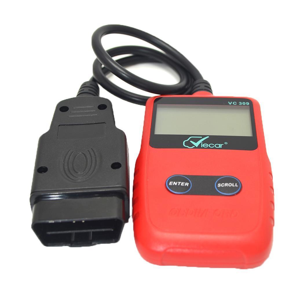 Elm327 VC309 OBD II Ferramenta de Scanner de Diagnóstico Do Carro Lançamento Leitor de Código de Auto Car Detector Para Vag com Diagnóstico Do Carro do OBD ferramentas