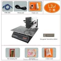 digital flatbed 3050a automatic hot foil printer