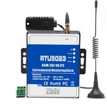 RTU5023 GSM alarma de temperatura y humedad ambiente alerta de potencia SMS monitoreo remoto DC temporizador informe APP Control