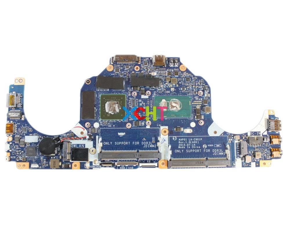 CN-0VC62V 0VC62V VC62V AAP01 LA-C901P w I5-6200U CPU GTX960M GPU DDR3L für Dell Alienware 13 R2 PC Laptop Motherboard Getestet