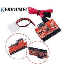 Kebidumei 2 In 1 Sata Naar Ide Adapter Ide Naar Sata Converter 40 Pin 2.5 Inch Hard Disk Driver 1.5 gb Voor Ata 100 133 Cd Dvd Adapte
