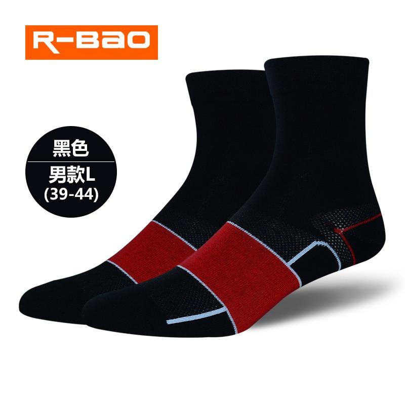 R-BAO Для мужчин Одежда высшего качества профессиональный бренд велосипедные спортивные носки защищают ноги дышащая и влаговпитывающая сетч...