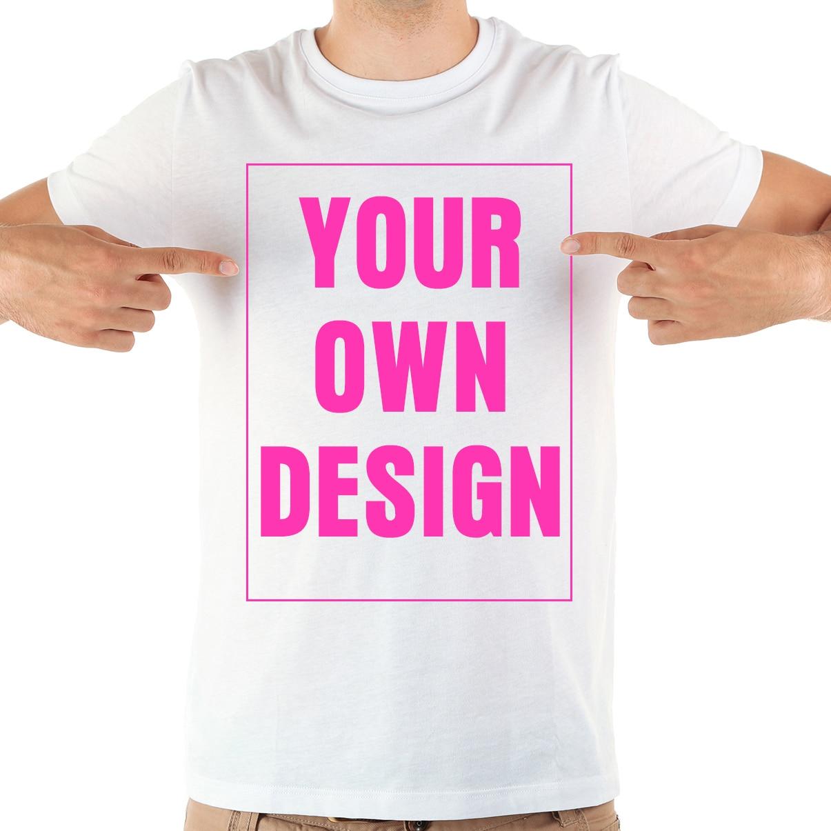 Personalizar diseño de impresión unisex Camiseta Hombre Blanco pantalón corto casual manga personalizada código QR camiseta hombres