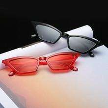 Fashion Vintage Cat Eye Sunglasses Women Party Eyewear Brand Designer Ladies Red Sun Glasses Eyeglas