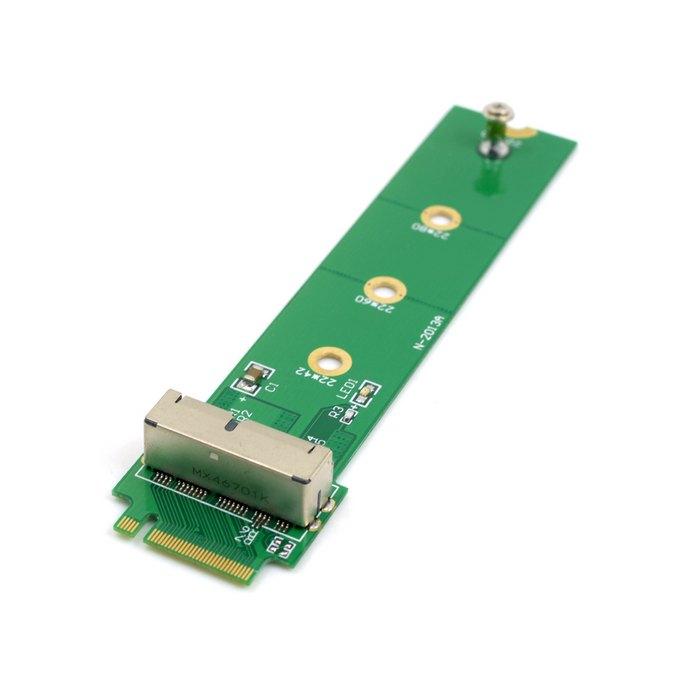 Xiwai PCI Express PCI-E 4X M.2 NGFF clave M a 2013 de 2014 de 2015 Mac libro SSD convertir tarjeta para A1493 A1502 A1465 A1466