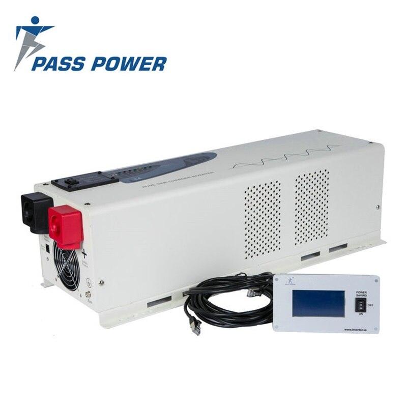Domu, sieci, osobiste komputerów zastosowanie i normalna specyfikacja 4000 W 24V48V 220 V falownik z naładowania baterii