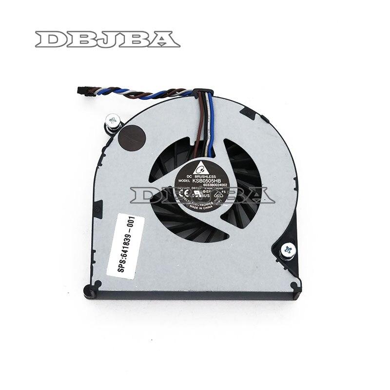 Вентилятор для процессора KSB 0505hb AJ66 641839-001 6033B0024002, вентилятор для HP Elitebook 8460P 8470W 8470P, вентилятор охлаждения процессора KSB 0505hb AJ66 6033B0024001