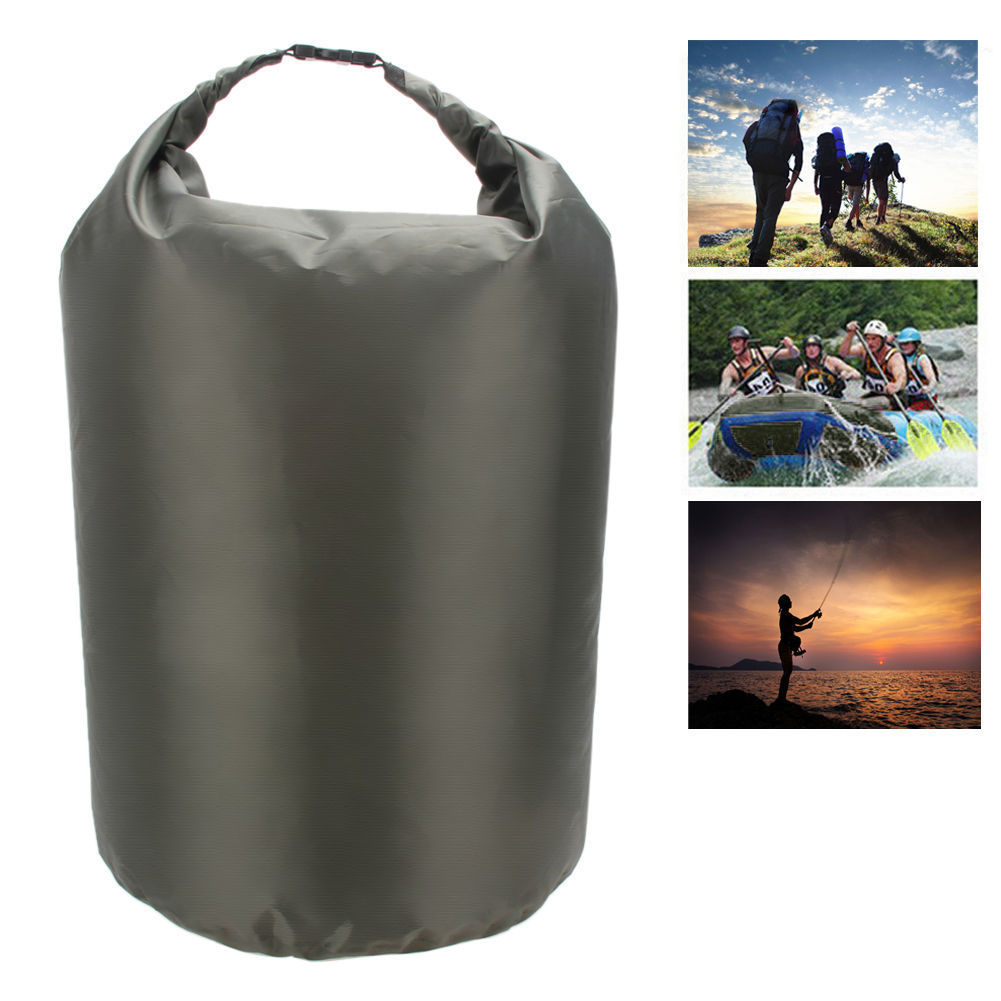 Bolsa impermeable Portátil Bolsa seca impermeable bolsa de almacenamiento canoa flotante bolsa de deriva conveniente