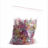 plastic clips sewing 50 pcs clear sewing craft quilt binding plastic clips clamps pack wonderful plastic clips