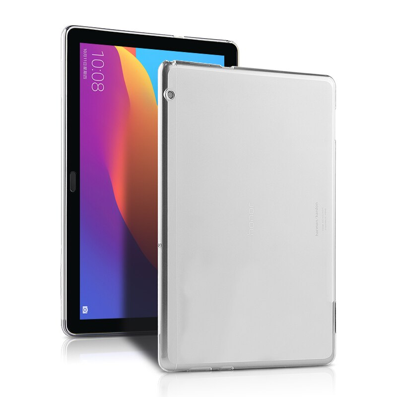 "Funda trasera de silicona TPU suave para Huawei MediaPad T5 10 AGS2-L03 AGS2-W09 AGS2-W19 AGS2-L09 de 10,1 "", funda protectora para Tablet PC"