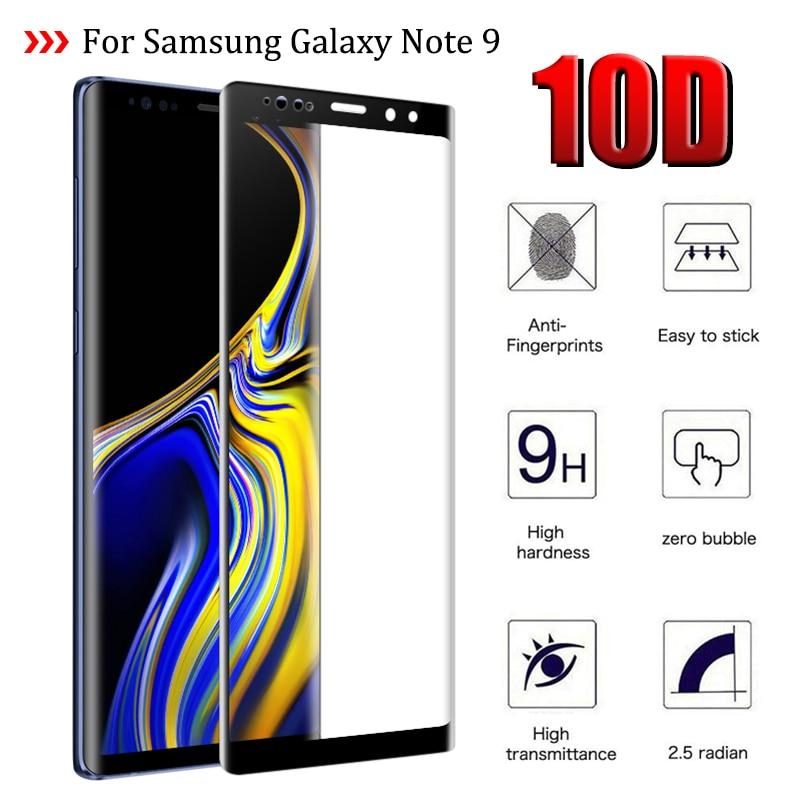 10D Защитное стекло для Samsung Galaxy Note 9 N960 SM-N960F закаленное стекло на Sumsung Sansung Glaxy Note9 крышка Sklo 6,4
