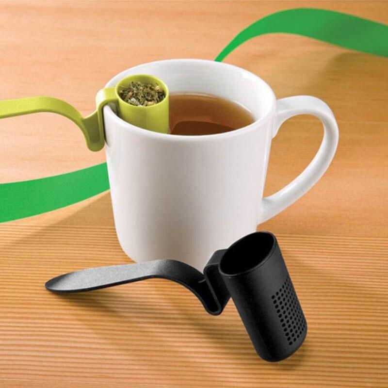 Infusor de té 1 Uds cucharadita de café y té colador de té colador cocina accesorios taza de té prepara infusores reutilizable