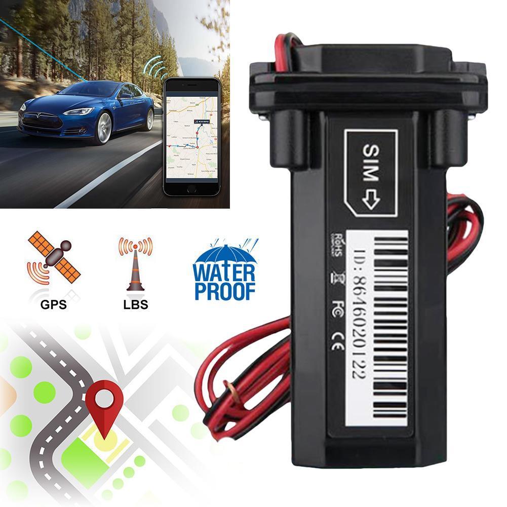 Impermeable precisa en tiempo Real Vehículo de seguimiento GPS Tracker localizador movimiento alarma antena seguimiento en tiempo Real de la posición exacta