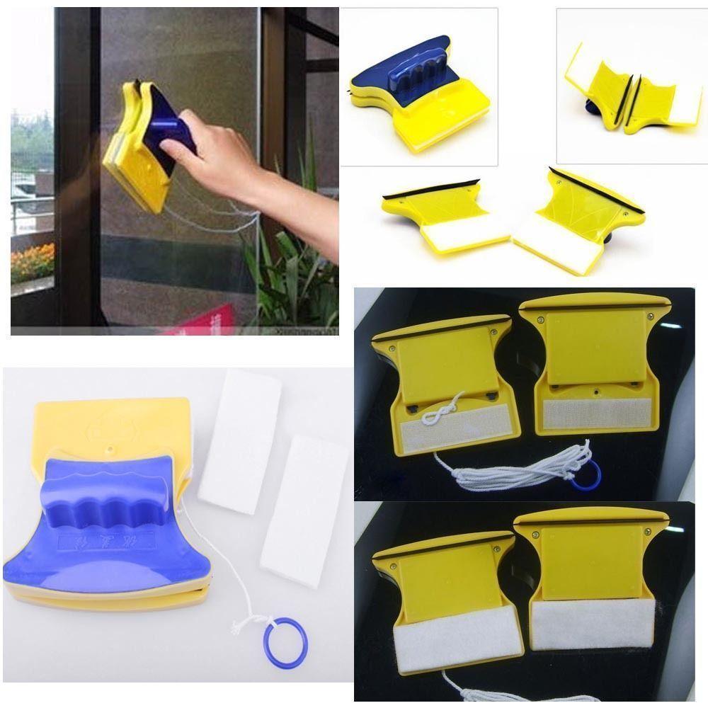 Cepillo magnético limpiador de ventanas para ventana de lavado cepillo magnético para ventana/12