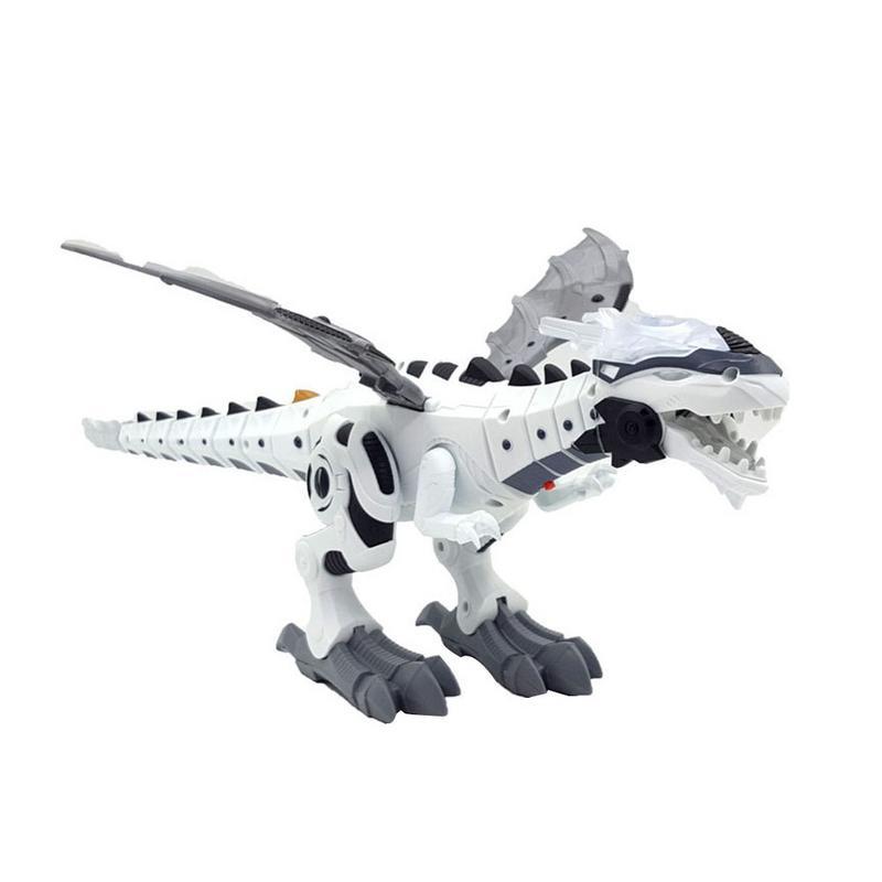 Mecánica de dinosaurio en forma de juguete eléctrico de juguete-luz Spitfire juguete mecánico eliminar juguete de control