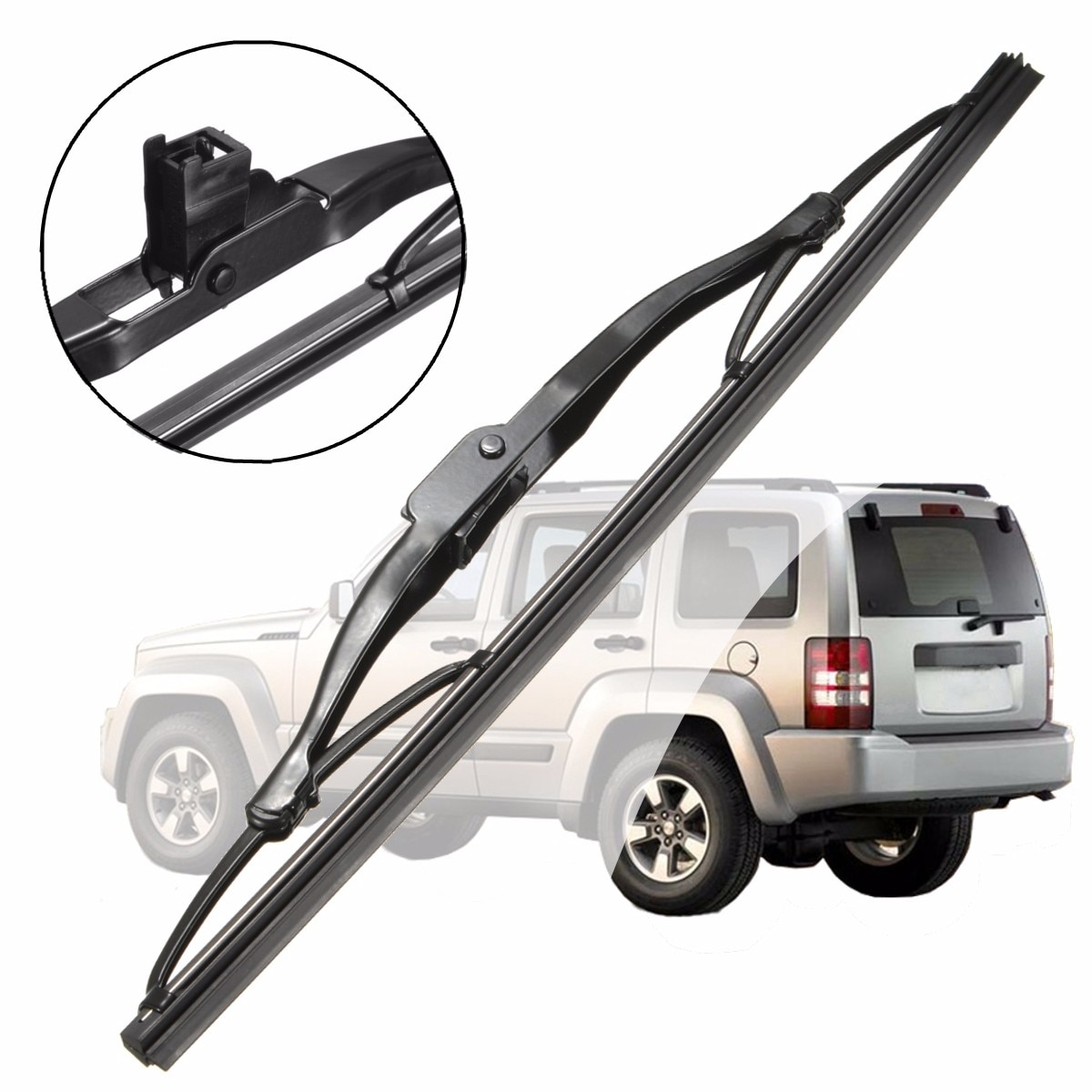 11 pulgadas 28cm coche trasera de vidrio escobilla limpiaparabrisas reemplazo para Jeep libertad para Dodge calibre 2002-2013