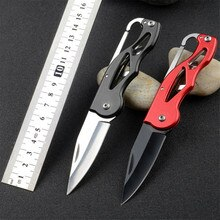 Нож-карабин, наружная коробка, посылка, для выживания, складной нож, Походное лезвие, многофункциональный инструмент, фруктовый пакет, пилинг, карманный нож, бритва, острый