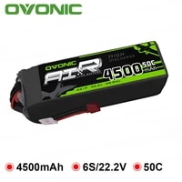 ovonic 4500mah 22 2v lipo 6s 50c 100c lipo battery pack t and xt60 plug for rc car big size helicopter quad plane drone