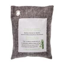1xCar Closet Room Natural Air Purifying Bag Odor Eliminator Bamboo Charcoal