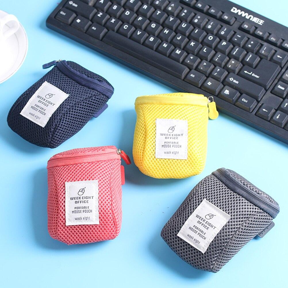 Estuche de ratón a prueba de sacudidas bolsas de almacenamiento de Cable Digital organizador de protección de ratones genéricos bolsa de viaje y transporte funda bolsa
