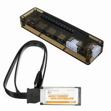 Ekspres kart Mini PCI-E Sürüm Expresscard V8.0 EXP GDC Beast PCIe PCI-E PCI Dizüstü Harici Bağımsız Video Kartı Dock