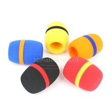 5PCS Pop Filter Windshield Microphone Sponge Foam For SENNHEISER SKM 2000 5000 5200 9000 SKM5200 SKM9000 Mic Cover Windscreen
