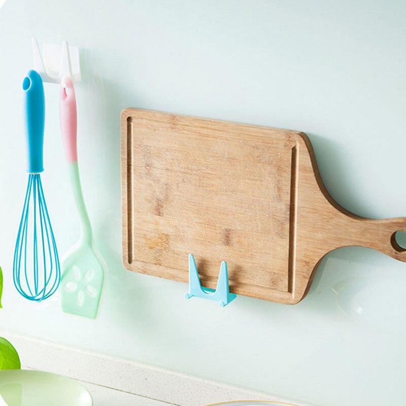 2 uds accesorios de cocina tabla de cortar estante tapas de olla soporte multifunción montado en la pared organizador Pan cubierta espátula estante de almacenamiento