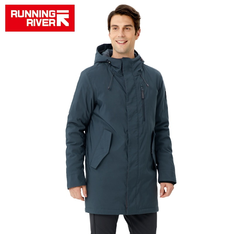 RUNNING RIVER Brand men Winter Hiking & Camping WINDBREAKER High Quality Warm Jackets For man Winter Outdoor Clothing #R8555
