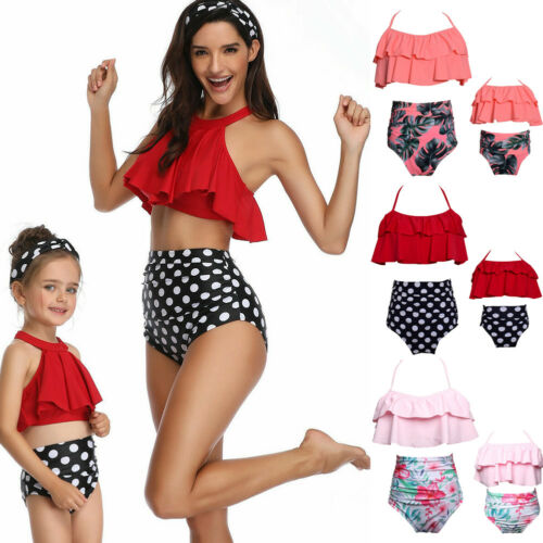 Emmababy moda mujer Mujer a juego chicas Bikini traje de baño Monokini traje de baño