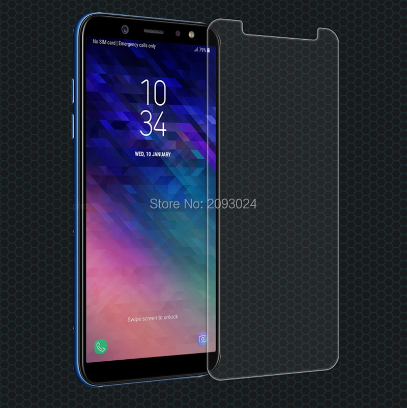 2pcs 0.26mm 9H Tempered Glass For Samsung Galaxy A9 (2018) Screen Protector protective film For Sams