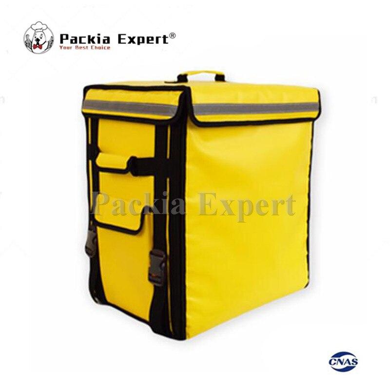 Bolso de transporte para Pizza, bolsa aislante, paquete de comida, scooter PEHS433553