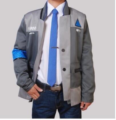 Detroit Ser Humano cosplay connor markus kara, chaqueta de las mujeres, connor detroit Ser Humano cosplay