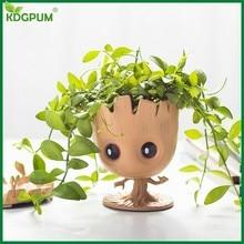 Topfpflanze Dekoration Groot Pflanzer Topf Galaxy Wächter Blume Schutz Q Version Modell Baum Mann Baby Groot Blumentopf Dekoration