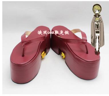 Vocaloid kagamine rin miku senbonzakura halloween vermelho saltos grossos botas cosplay sapatos