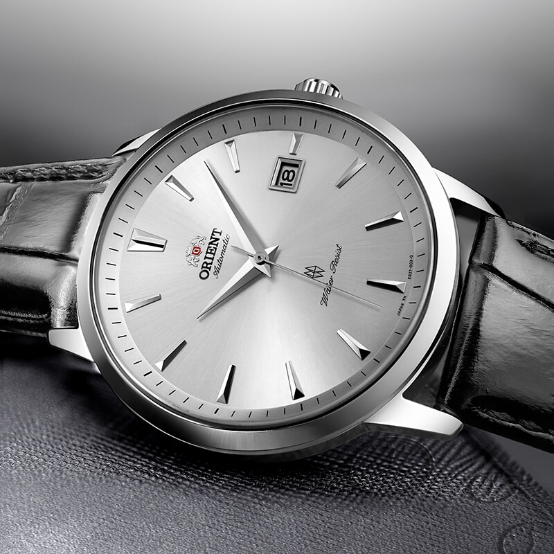 Pulseira de Couro Barra à Prova Relógios de Pulso Orient Original Relógio Mecânico Automático Masculino Moda 5 Dwaterproof Água Bussiness 100%