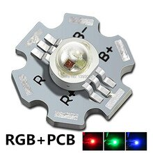 3W LED RGB High power LED Lamp bulb 45mil Chip Six Pins stage lamp 700mA 3.2-3.4V Taiwan Genesis/HPO chips Free shipping