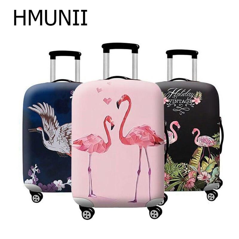 Hmunii Hot Fashionelastic Stof Bagage Beschermhoes Suitable18-32 Inch Trolley Koffer Stofkap Reizen Accessoires