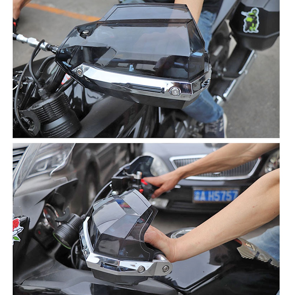 Protector de manos para motocicleta, impermeable, a prueba de viento, sujeción para Motocross, protección de espíritu BEAST, capó Universal para parabrisas, envío gratis