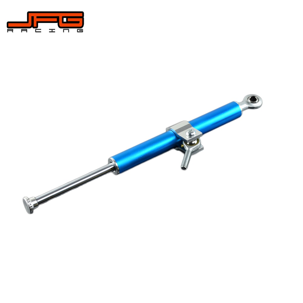 Amortiguador Universal de aluminio CNC para motocicleta, Control de seguridad estabilizador para YAMAHA YZF R1 R6 MT07 MT09 FZ09 Ninja 250 Z250