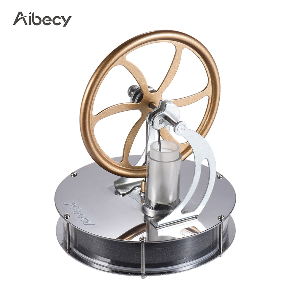 Aibecy, motor Stirling a baja temperatura, modelo de vapor térmico, juguete educativo, Kit DIY