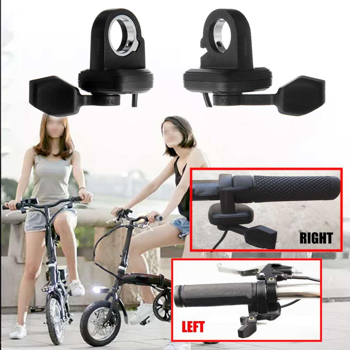 E-fahrrad Daumen-drossel Kunststoff Finger Daumen-drossel 24-72 v Elektrische Fahrrad Ebike Roller Links Rechts Daumen finger Trigger Drossel